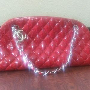 Red Coco Chenal Handbag